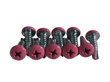 10 Pink Lacrosse Head Screws Brand New with Free Shipping