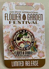 Disney Epcot Flower and Garden Festival 2019 Mickey Mouse Logo Disney Pin