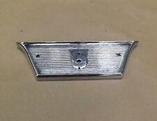 1957 58 59 Ford Fairlane 500 Rear Seat Back Center Emblem Retainer trim