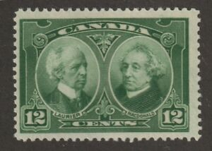 CANADA 1927 #147 Historical Issue (Laurier & Macdonald) - F MNH