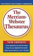 The Merriam-Webster Thesaurus (Paperback or Softback)