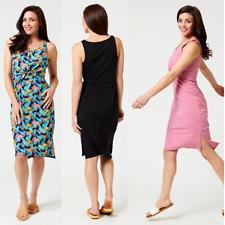 Tie-Front Midi Dress - Organic Cotton