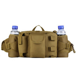 Tactical Waist Pack Bag Pocket Military Fanny Pack Waterproof Hip Belt Bag Pouch
