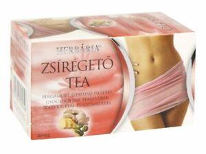 Fat Burner Tea Bergamot Green Coffee Ginger Weight Loss Natural Herbal Tea 20x2g