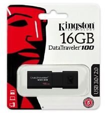 CHIAVETTA PEN DRIVE KINGSTON 16GB DT100G3/16GB USB 3.1/3.0/2.0