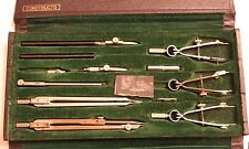 """RARE Vintage Dietzgen """"Constructo"""" 1096 Drafting Tool Set - Made in Germany"""