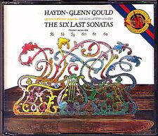 Glenn Gould: HAYDN 6 Last piano sonatas 2cd CBS 1982 piano Sonaten 56 58-62