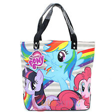 My Little Pony Friends Ponies Rainow Tote Bag Canvas Shoulder Bag by Loungefly