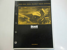 2001 Buell Blast Models Service Shop Repair Manual W Parts Catalog & Owners