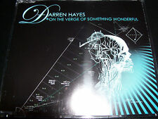 Darren Hayes On The Verge Of Something Wonderful/Step Into The Light CD Single