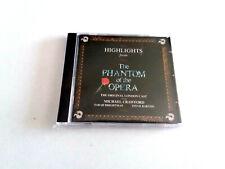 "CD ""THE PHANTOM OF THE OPERA"" CD 14 COMO NUEVO HIGHLIGHTS MICHAEL CRAWFORD SARAH"
