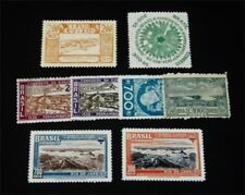 nystamps Brazil Stamp # 195 // 444 Mint OG H $25