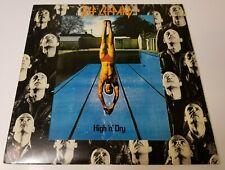 Def Leppard High N' Dry Vinyl Lp 1981 Polygram Srm 1-4021 Rock