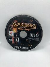 Warriors of Might and Magic (Sony PlayStation 2, 2001) Ps2. Disc Only , Tested !
