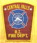 GEMSCO NOS Vintage Patch FIRE DEPARTMENT CENTRAL FALLS RI -  25+ year old