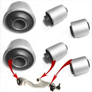 6 Front Lower Control Arm Bushings for 2008-2009-2010-2011-2012 INFINITI EX35