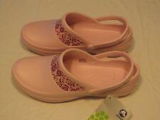 Crocs Work bubblegum plum W11 roomy fit RARE womens sneaker shoes clogs Mercy