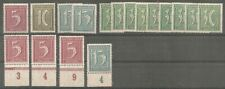 Deutsches Reich vanaf 165 postfris MNH  c.w.  €  32,60