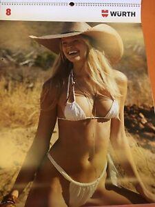 WURTH GIRLS 2021 Super Sexy Bikini Pinup Swimsuit Photo Wall Calendar Posters