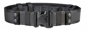 "Bianchi 24776 Black Nylon AccuMold 7235 Belt System w/ Loop Lining, 34"" - 40"""