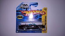HOT WHEELS TV BATMOBILE NUMERO 15 DATATO 2007 MOC
