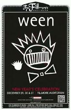 WEEN FILLMORE DENVER COLORADO CONCERT POSTER 2011 NEW YEARS