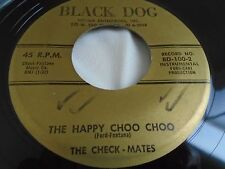 Rare Sax Inst Rocker 45 : The Check-Mates ~ Scrappy ~ The Happy Choo Choo  ~ BD