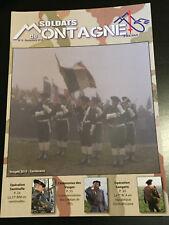 MAGAZINE SOLDATS DE MONTAGNE N°6 SEPTEMBRE 2015 - FRESM - MILITARIA - 27E BIM