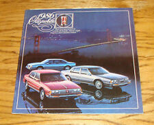 Original 1986 Oldsmobile Delta 88 Ninety Eight Custom Cruiser Sales Brochure 86