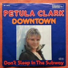 PETULA CLARK-DOWNTOWN GERMANY 7'' PS 1976 BELLAPHON LOUNGE