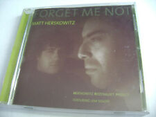 Matt Herskowitz - Forget Me Not (CD, 2005, Tout Crin Records)