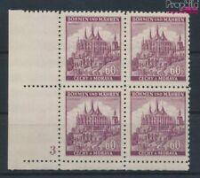 Bohemen en Moravië 27 met Nummerplaat postfris MNH 1939 Ruttenberg (9310334