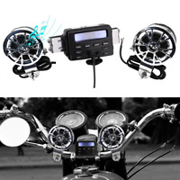 Waterproof Audio System Motorcycle ATV UTV Bike Handlebar FM Radio iPod Stereo
