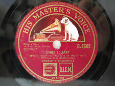 78rpm COMEDIAN HARMONISTS - Congo Lullaby / Love me a little today - SEHR SELTEN