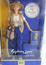 Barbie Doll Sydney 2000 Olympic Pin Collector