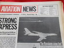 EARLY INTERNATIONAL AVIATION NEWS V1 #11 FOKKER D VIII HAWKER HUNTER T7 PIPER
