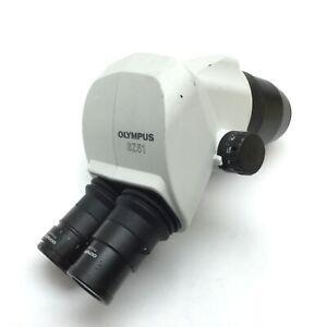 Olympus SZ51 Microscope Head Stereo 0.8x to 4x WHSZ10X-H/22 WHSZ10X/22 Eyepieces