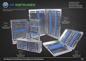 Cassette Hold rack tray up to 20 Pieces, Dental instruments sterilisation