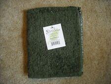 Janey Lynn Shaggie SHRUBBIE 100% Cotton Chenille Dishcloth/Nylon scrubber Green