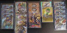 Digimon ULTIMATE EVOLUTION 2020 Card Game BT1 - SR Rarities & Tamer Parallels
