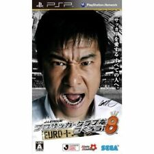 Used PSP J.LEAGUE TM Pro Soccer Club wo Tsukurou!  SONY PLAYSTATION JAPAN IMPORT
