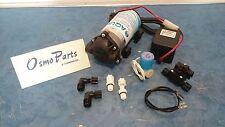 Pompa Booster 24 V - Pressostato Elettrovalvola - Filtrazione Depurazione Osmosi