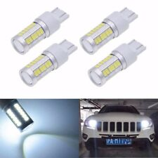 4X Strobe 7443 33SMD LED Bulb for Car Brake Reverse Parking DRL Fog Light Lamp