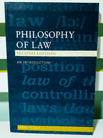 Philosophy of Law: An Introduction - Second Edition! Book by Mark Tebbit!