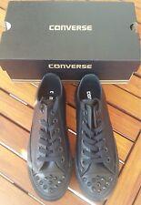 Converse Chuck Taylor All Star Studs Sneaker Low Gr.38 Leder Black Neu&Ovp