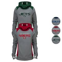 """NFL """"Ultimate Funnel"""" Grey Pullover Hoodie Collection Girls Youth (S-XL)"""