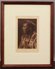 RARE Authentic Antique 1908 Edward Curtis Western Indian Photogravure Photograph