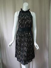 NWOT New Banana Republic Lace Black Dress size 10