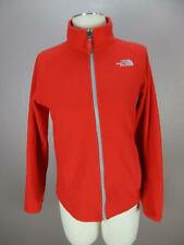 The North Face Size L (14-16) Boys Red Full Zip Side Pockets Fleece Jacket 813
