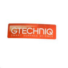 Gtechniq Window Sticker as included with C1 C4 C5 G1 and EXO